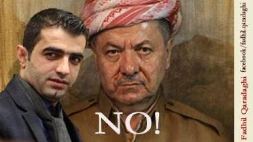 Beating a Parliamentarian for Objecting Barzani's Second Extended Term